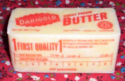 re  measuring soft butter