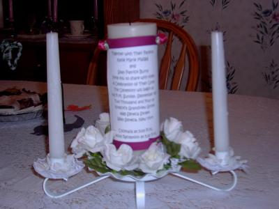 Portias Blog Candle Centerpiece Ideas Wedding Candle Wedding