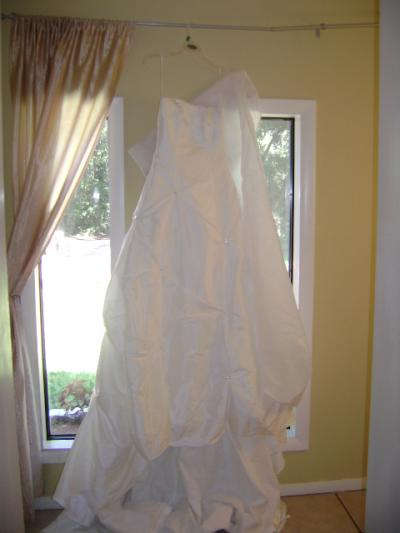 used unique wedding dress