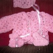 Crochet Pattern Central Baby Cardigans : CROCHETED BABY SWEATERS ? Crochet For Beginners